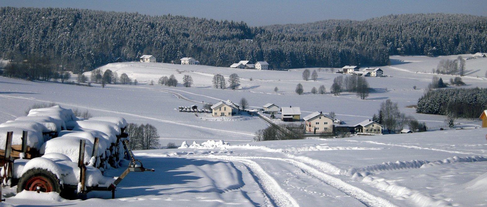 winterurlaub-bayerischer-wald-winterlandschaft-spur